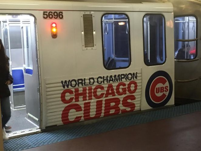 Subway with Cubs