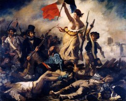 Liberty-Leading-the-People-oil-canvas-Eugene-1830