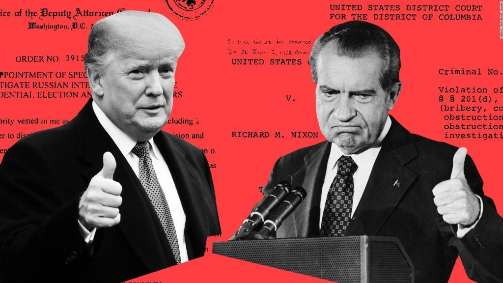 Trump is sounding a lot like Nixon - CNN Video